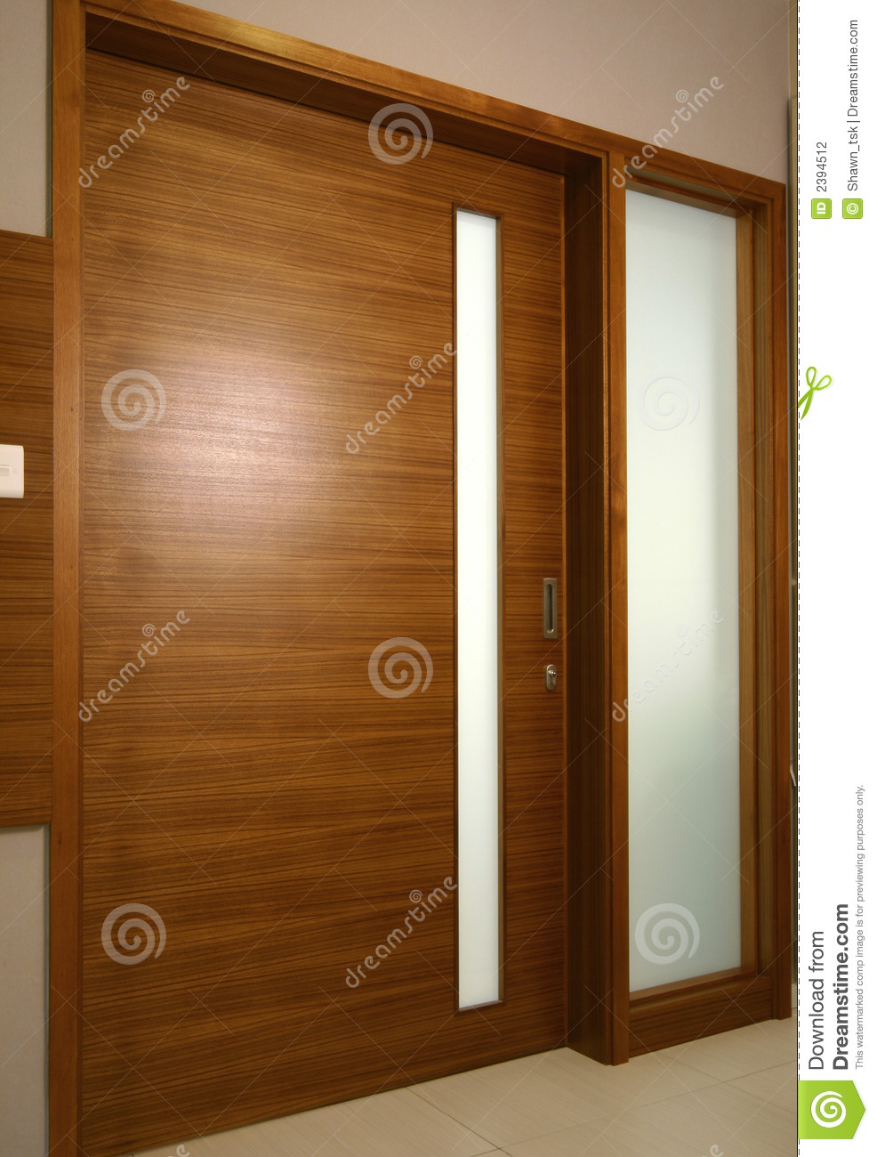 Interior design sliding door stock photo image of for Inside sliding doors