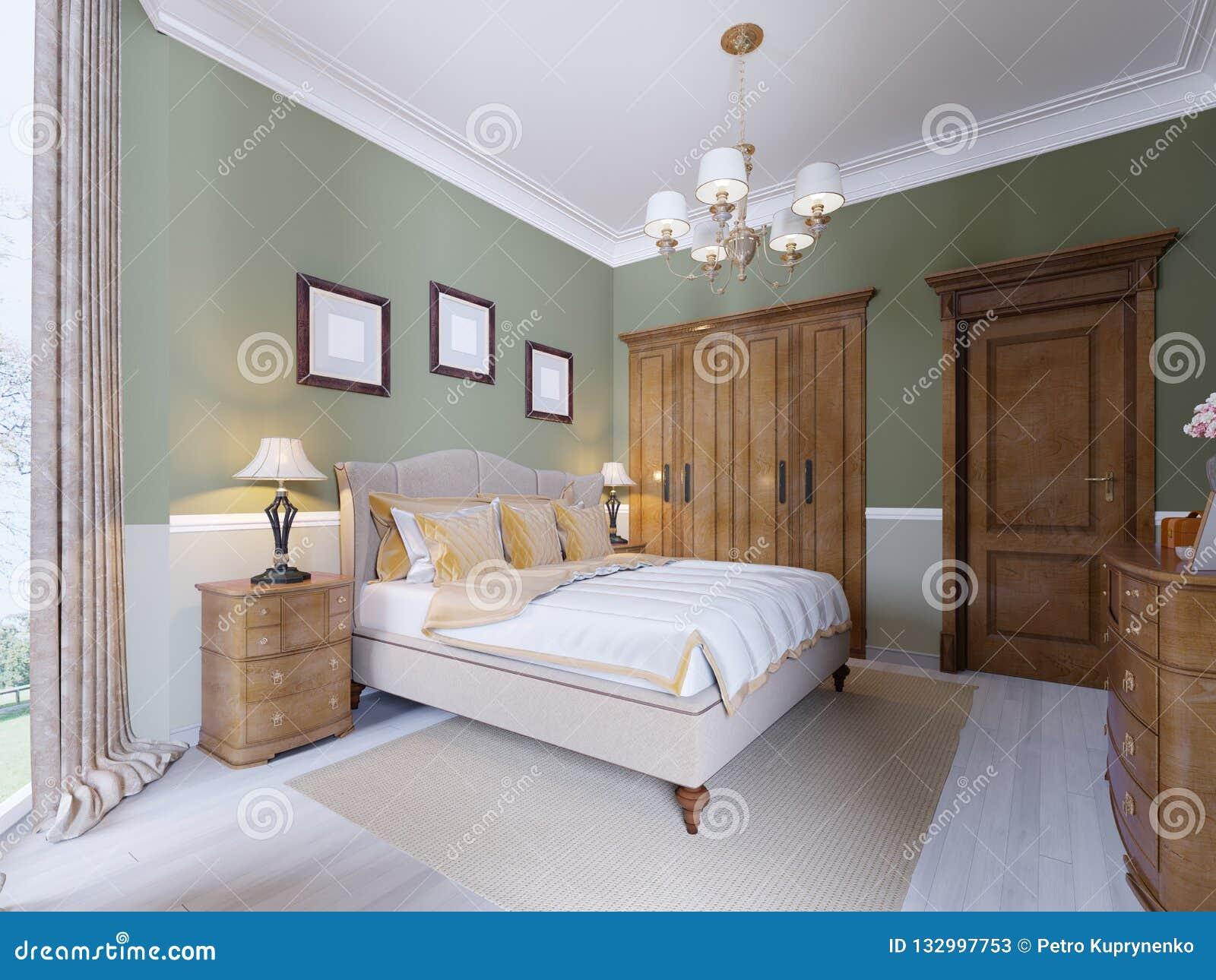 Interior Design Tradizionale Classico Moderno Della Camera ...