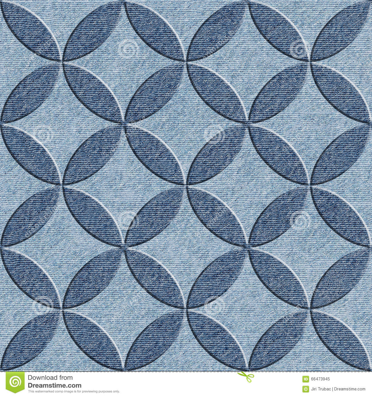 Abstract Background Blue Decor Decoration Design Interior Jeans Material Paneling Pattern Seamless Texture