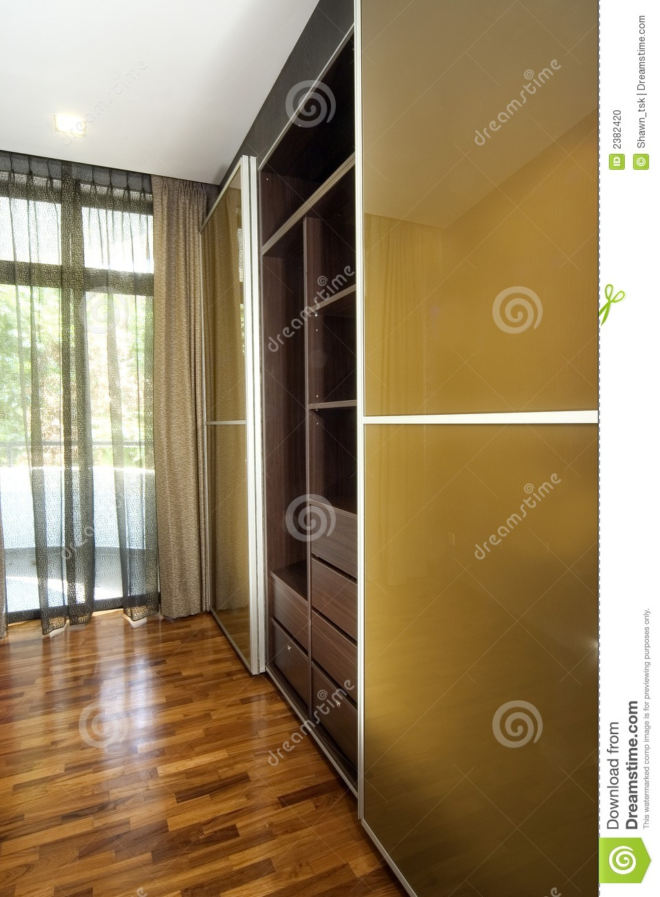 Interior design wardrobe stock photo image 2382420 for Interior decoration wardrobe designs