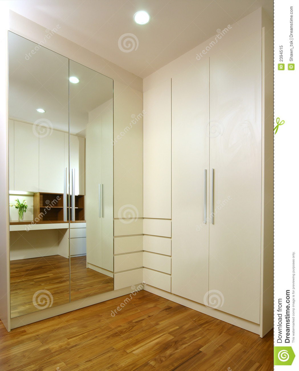 Interior Design Wardrobe Royalty Free Stock Photo