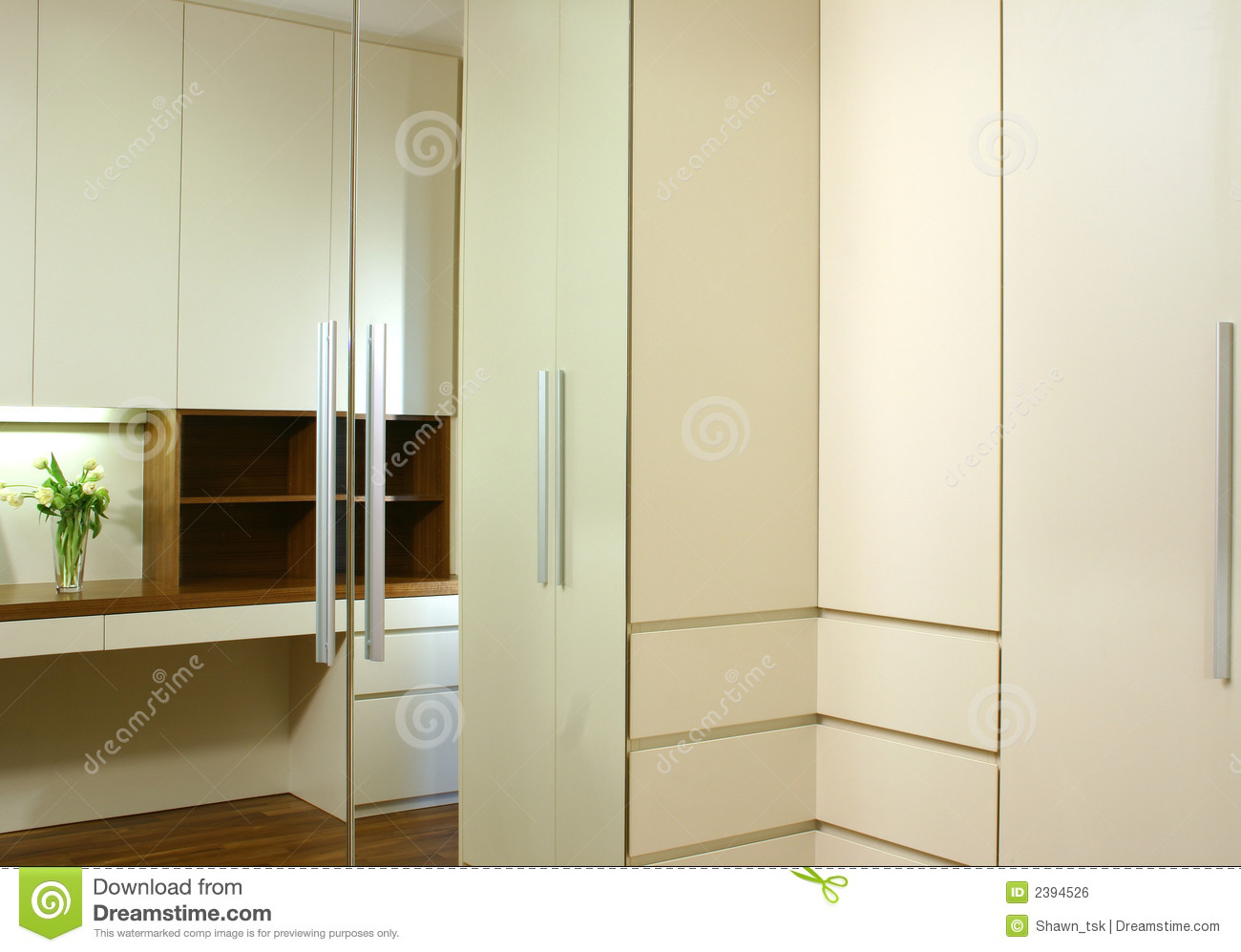Interior Design Wardrobe Royalty Free Stock Image