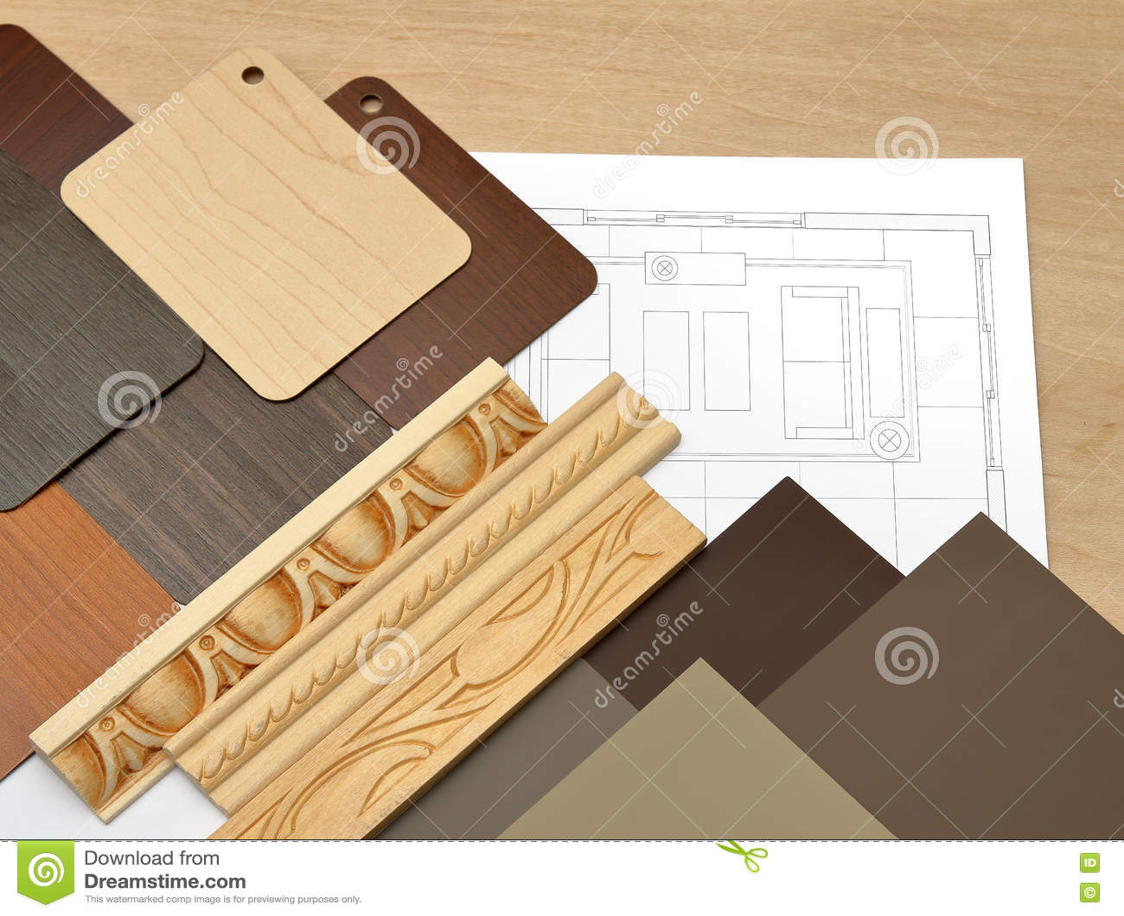 Interior design work table