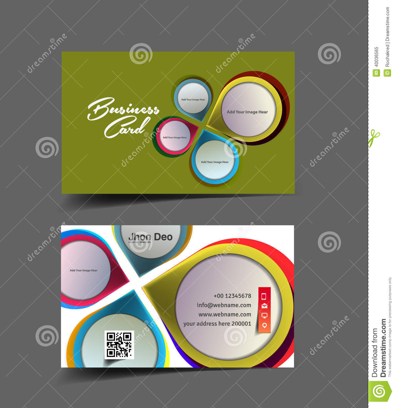 Business Card Design Designer Interior