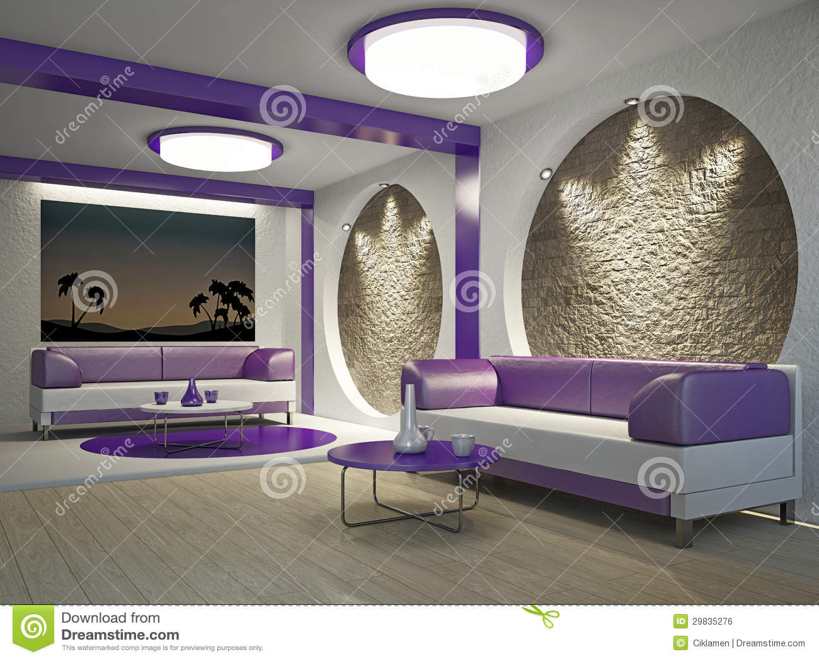 Interior do café