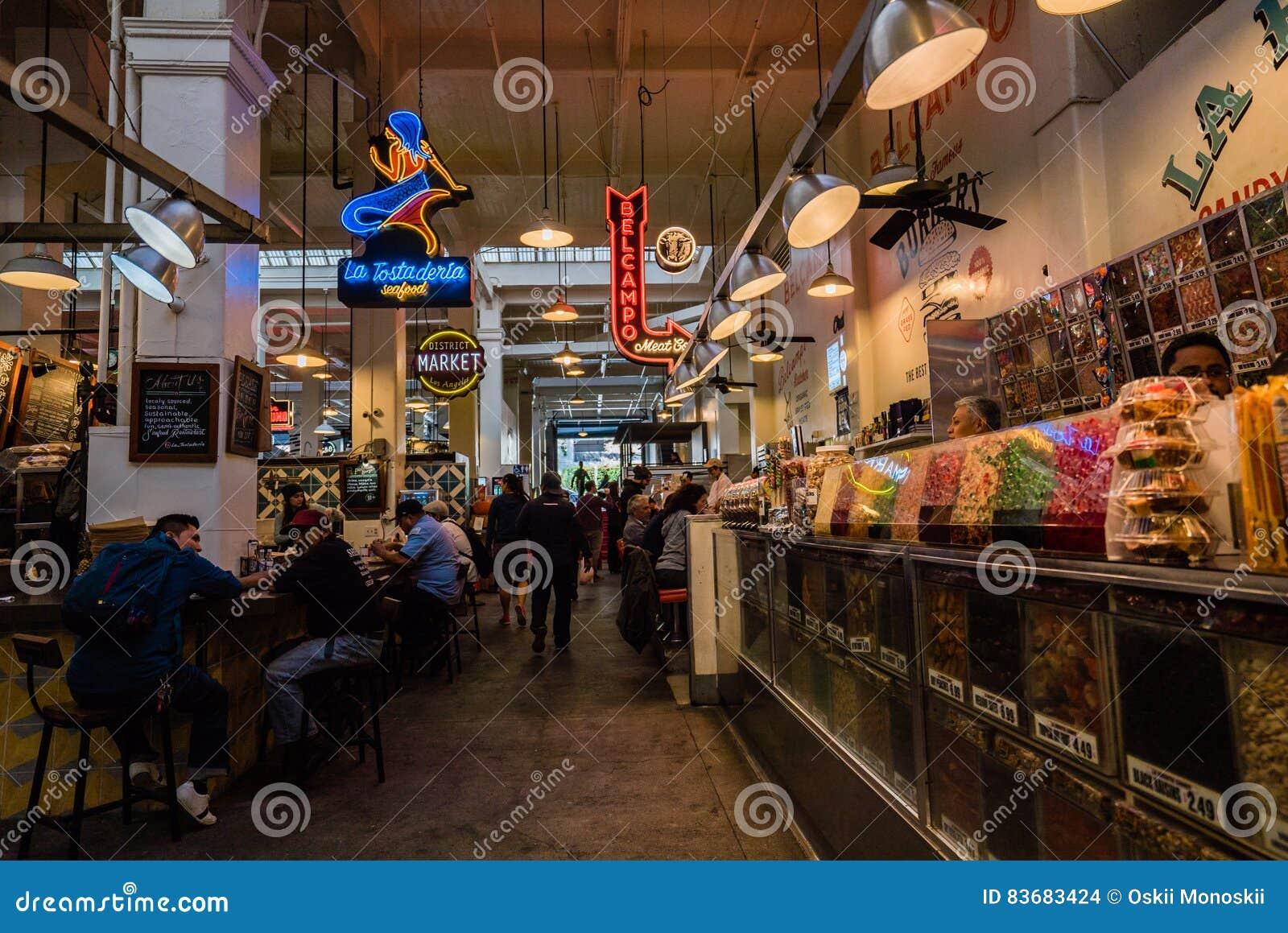 Interior do mercado de Grand Central