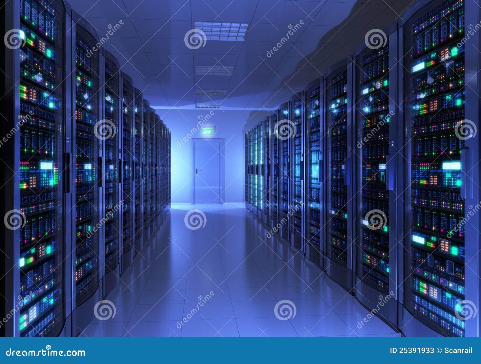 Interior do quarto do server
