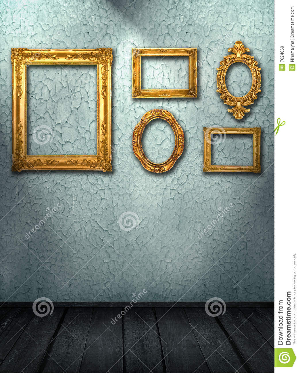 Interior Do Quarto Do Vintage Fotos de Stock Royalty Free - Imagem ...
