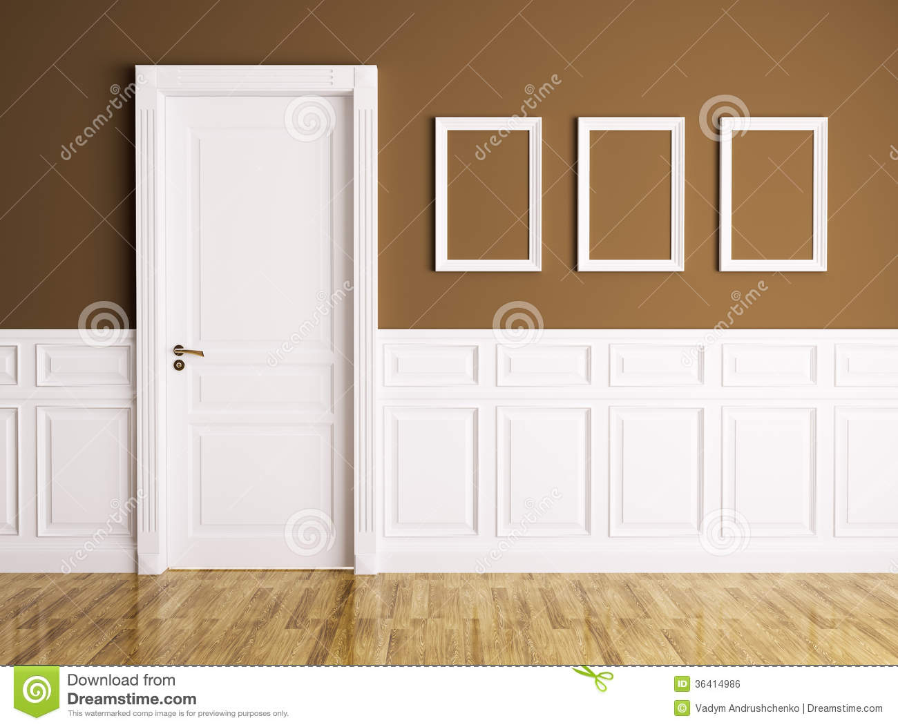 Interior with door and frames stock illustration illustration of interior with door and frames planetlyrics Gallery