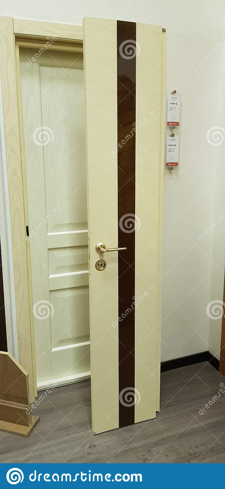Interior Doors For Sale In A Specialized Store Editorial Stock Image Image Of Background Manufacturing 142443624