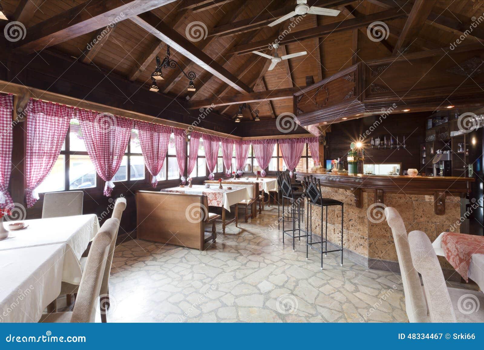 Interior Ethnic Restaurants Stock Image