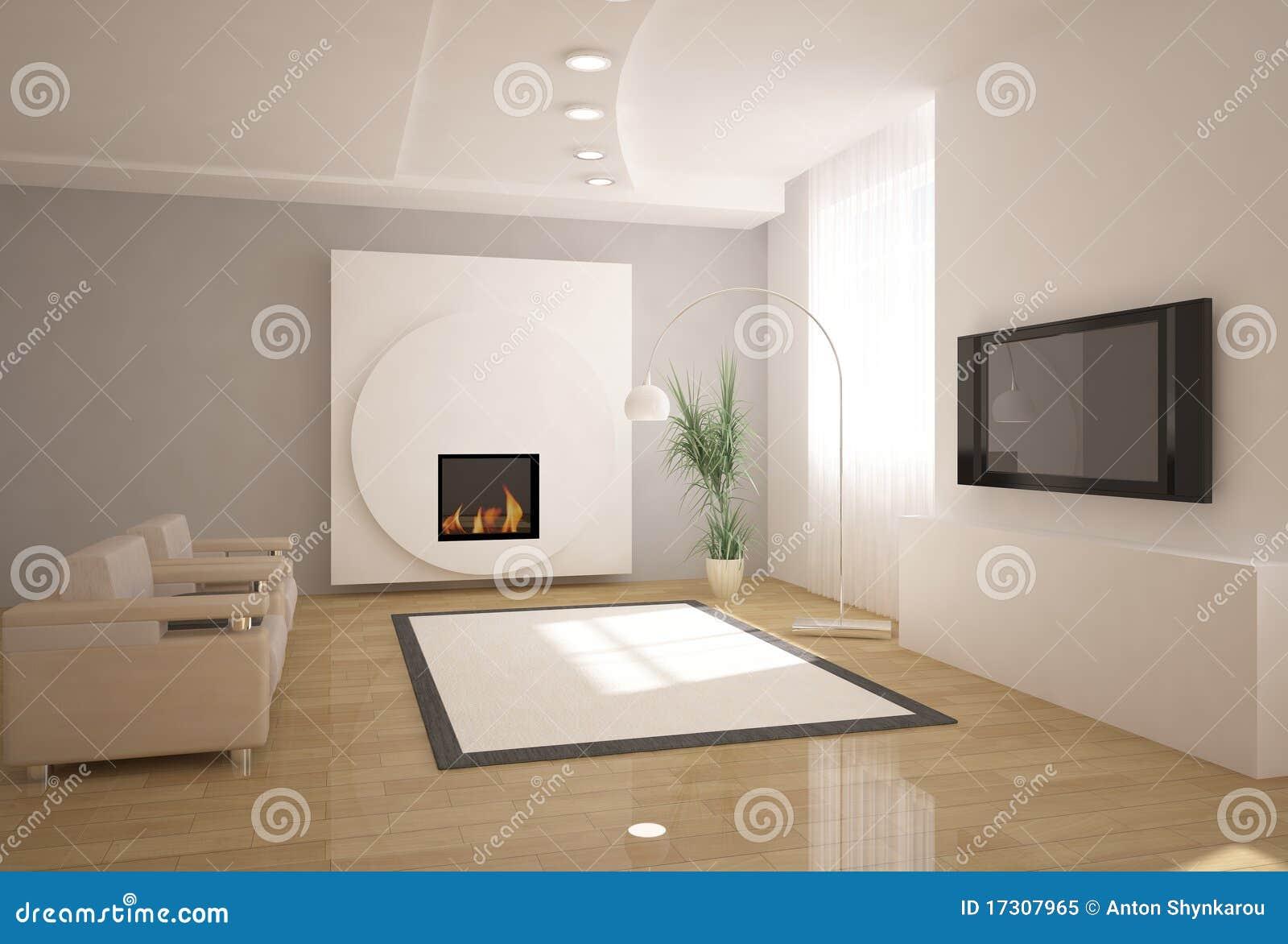 Interior för design 3d