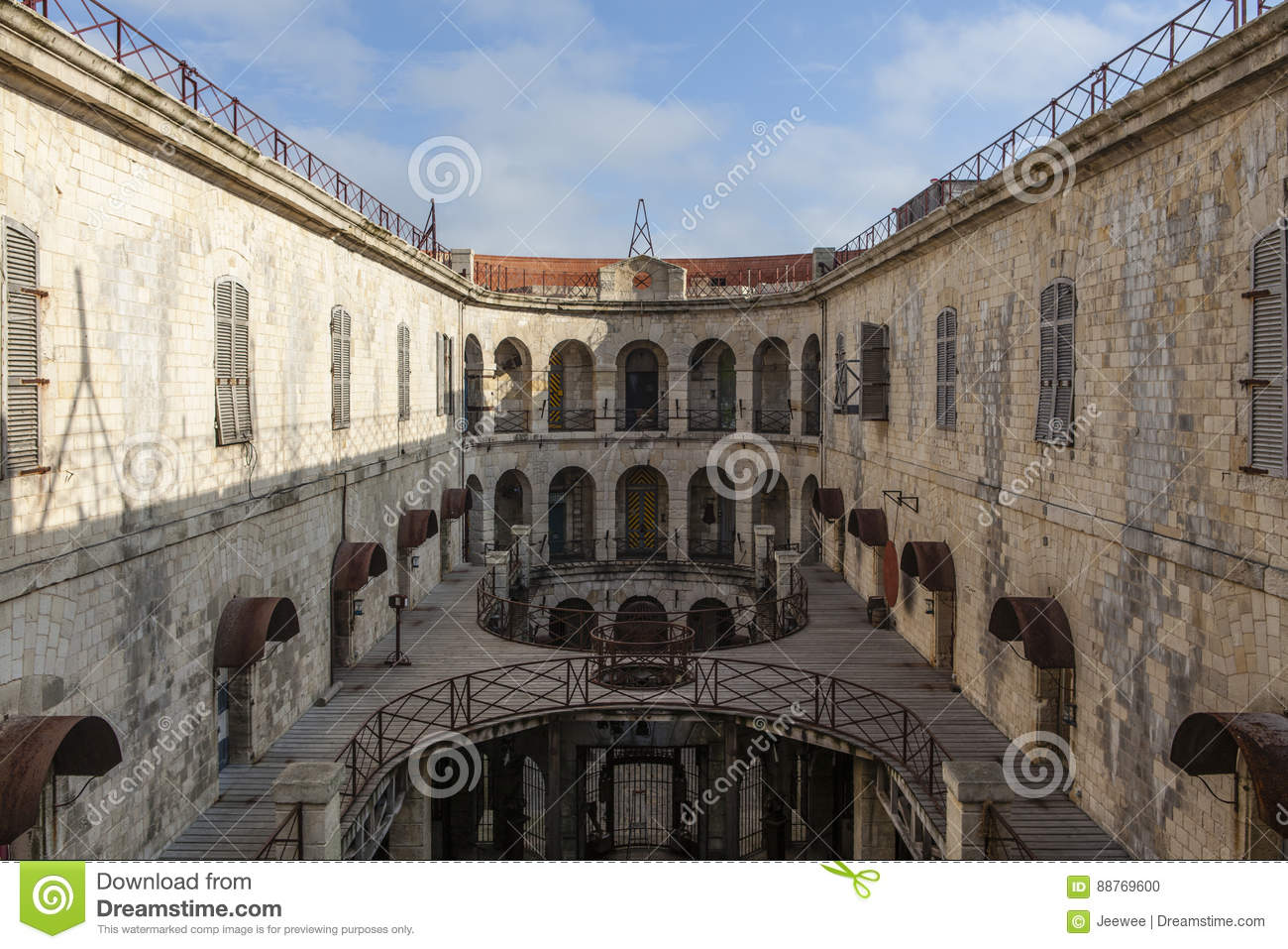 Fort Boyard France Stock Photos - Royalty Free Pictures