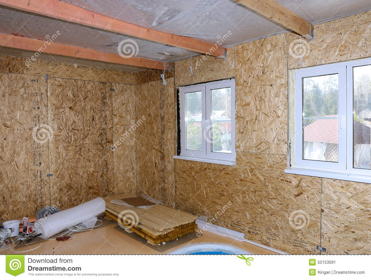 Building Enclosure Design Presentation 1 besides Wood Lumber Grading also Stock Photo Interior Frame House Under Construction Made Osb Image55153091 likewise Wall Parts Diagram additionally Roofing. on drywall and insulation