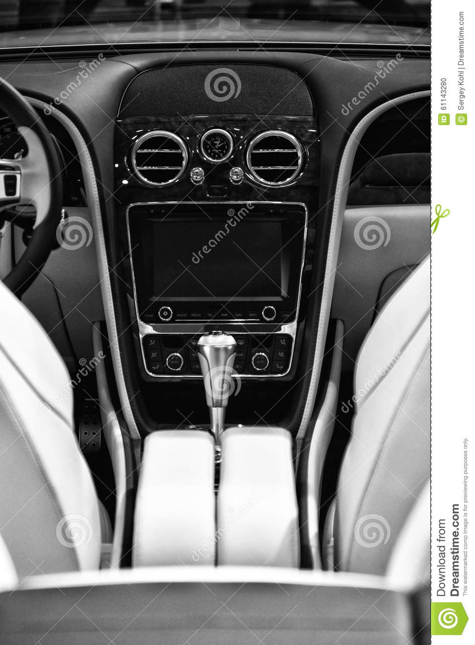 the interior of a full size luxury car bentley new continental gt v8 convertible editorial image. Black Bedroom Furniture Sets. Home Design Ideas
