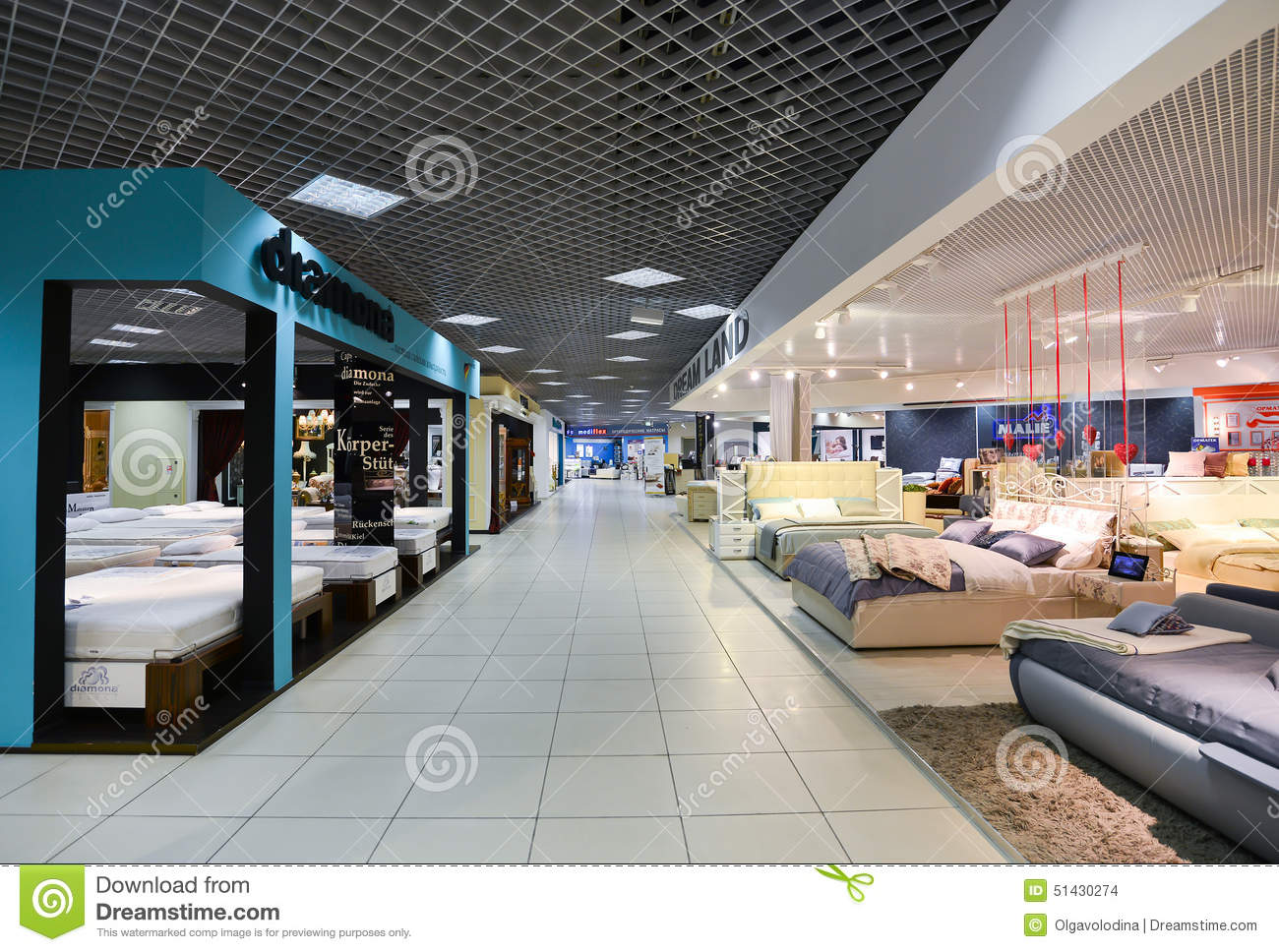 Interior Furniture Shopping Complex Grand. Furniture Shopping Mall GRAND    Largest Specialty Shop Stock Images