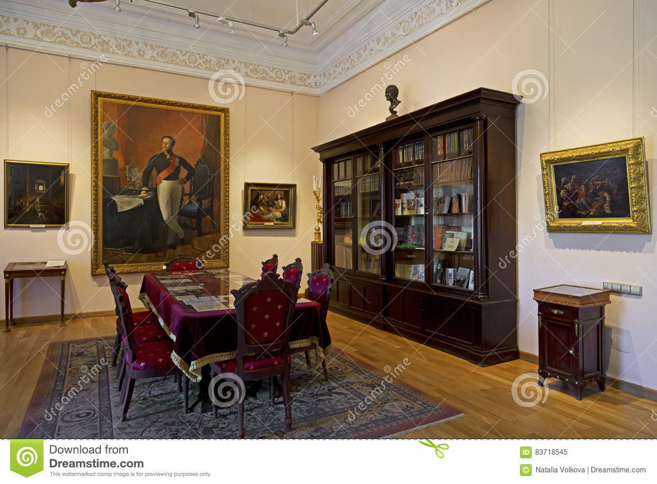 Interior Of The Governor House In Yaroslavl, Russia. Editorial Image