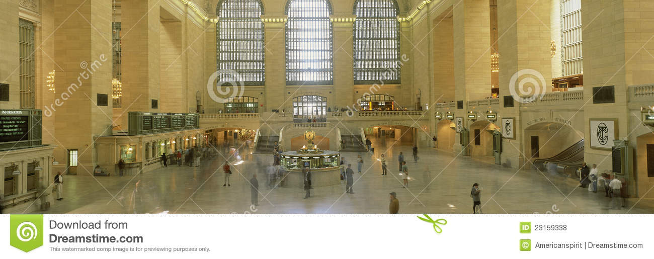Interior of grand central station new york ny editorial for Grand tableau new york