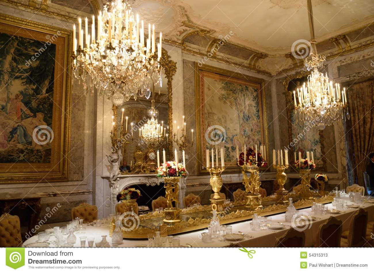 Dining Grand Home Interior Room Stately ... Part 58