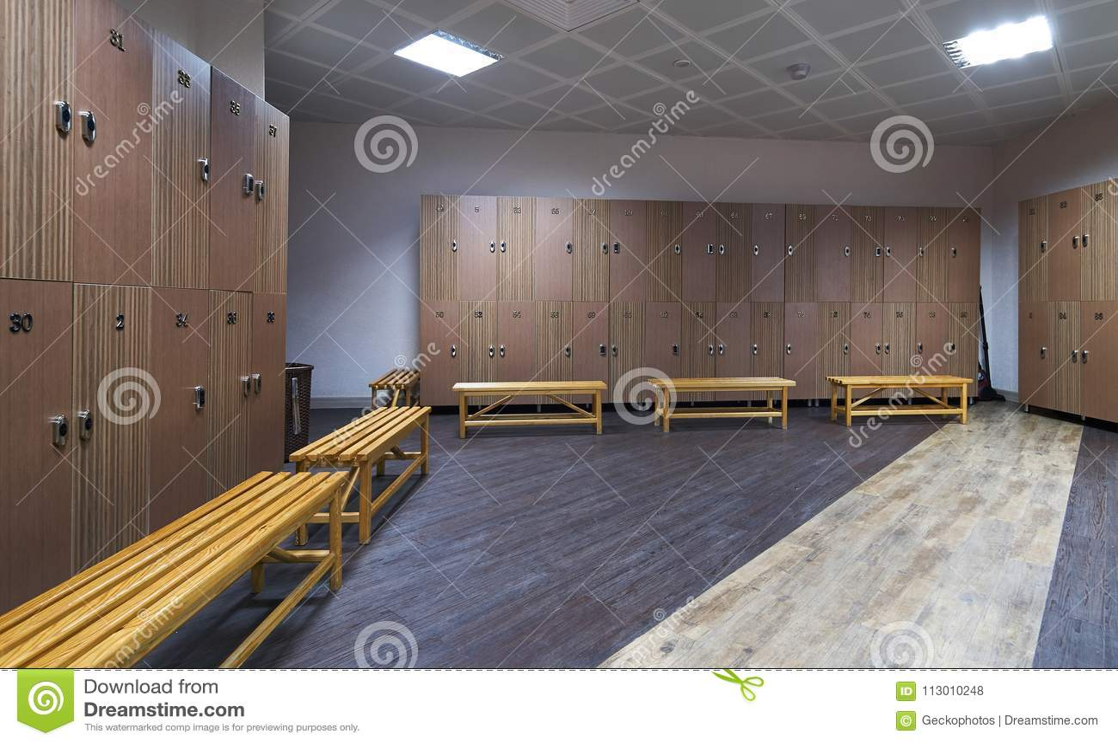 Interior of gym locker room stock photo image of swim locker