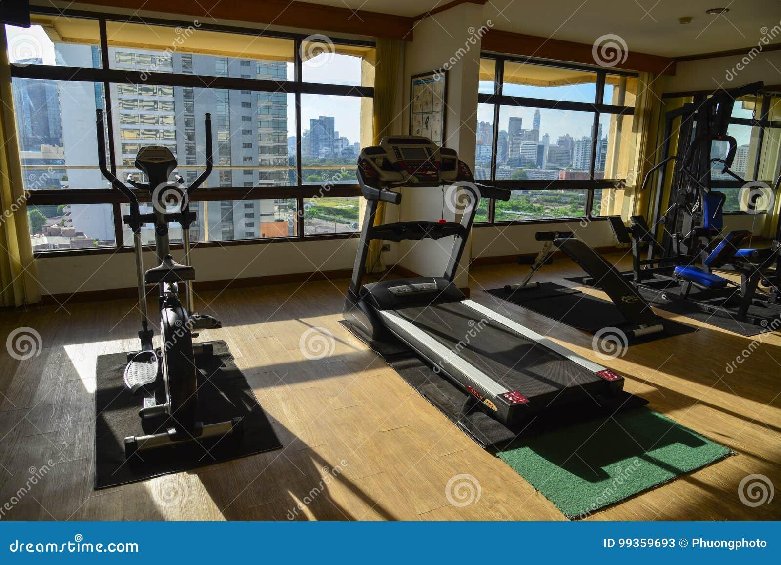 Superb Interior Of Gym Room At A Luxury Hotel Editorial Stock Photo Interior Design Ideas Skatsoteloinfo