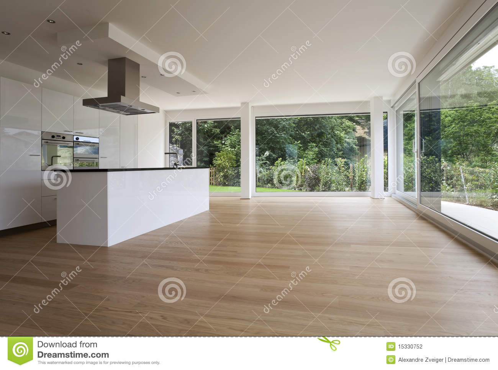 Interior Hermoso De Una Casa Moderna Fotografía de archivo  Imagen