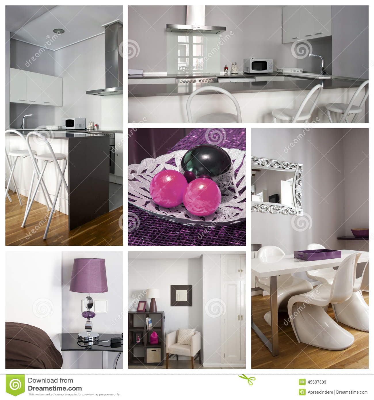 Bedroom Door Collage Simple Bedrooms For Girls Pics Of Bedroom Decorating Ideas Bedroom Furniture Design Catalogue: Interior Home Collage Stock Image. Image Of Contemporary