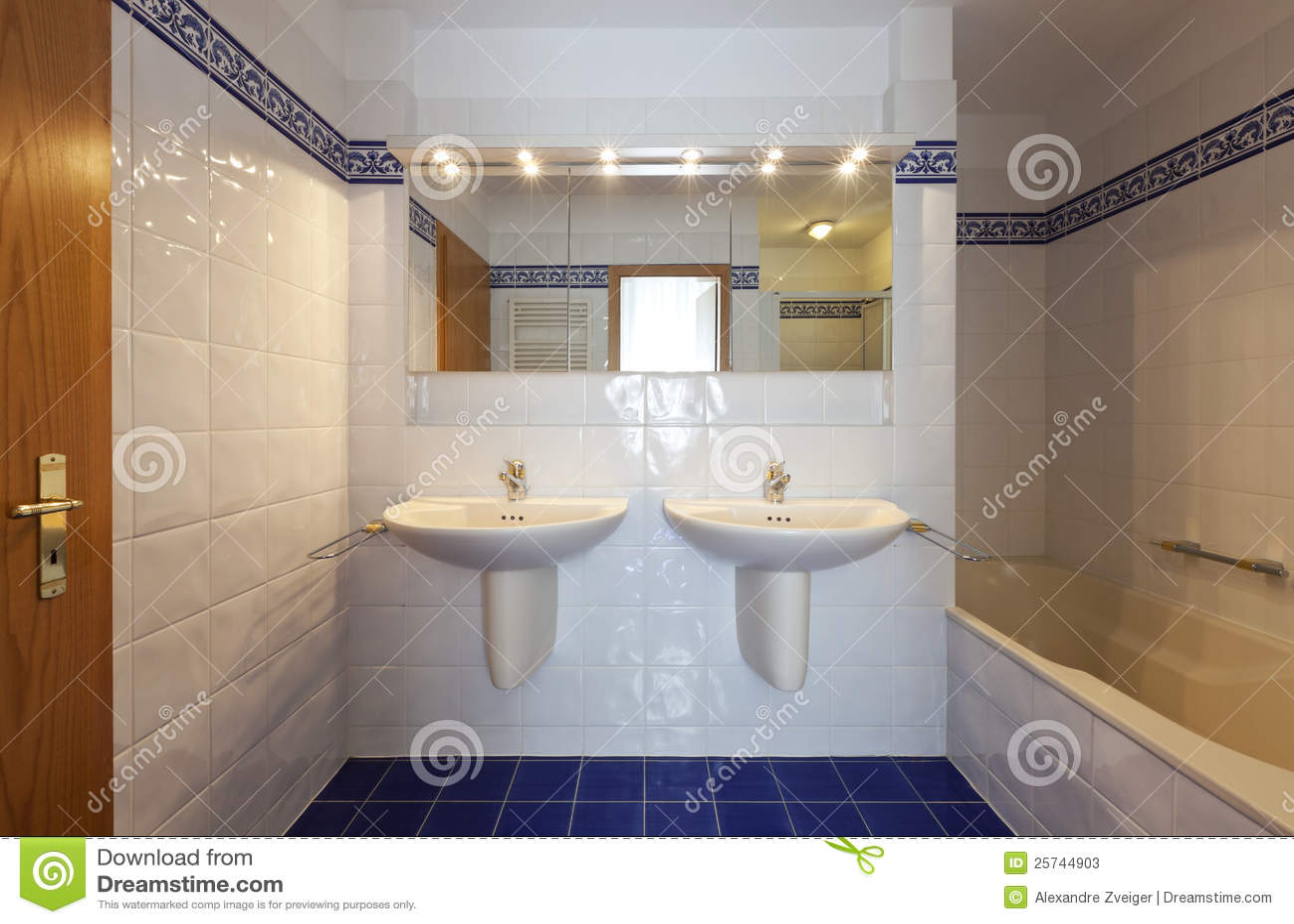 Interior house, bathroom