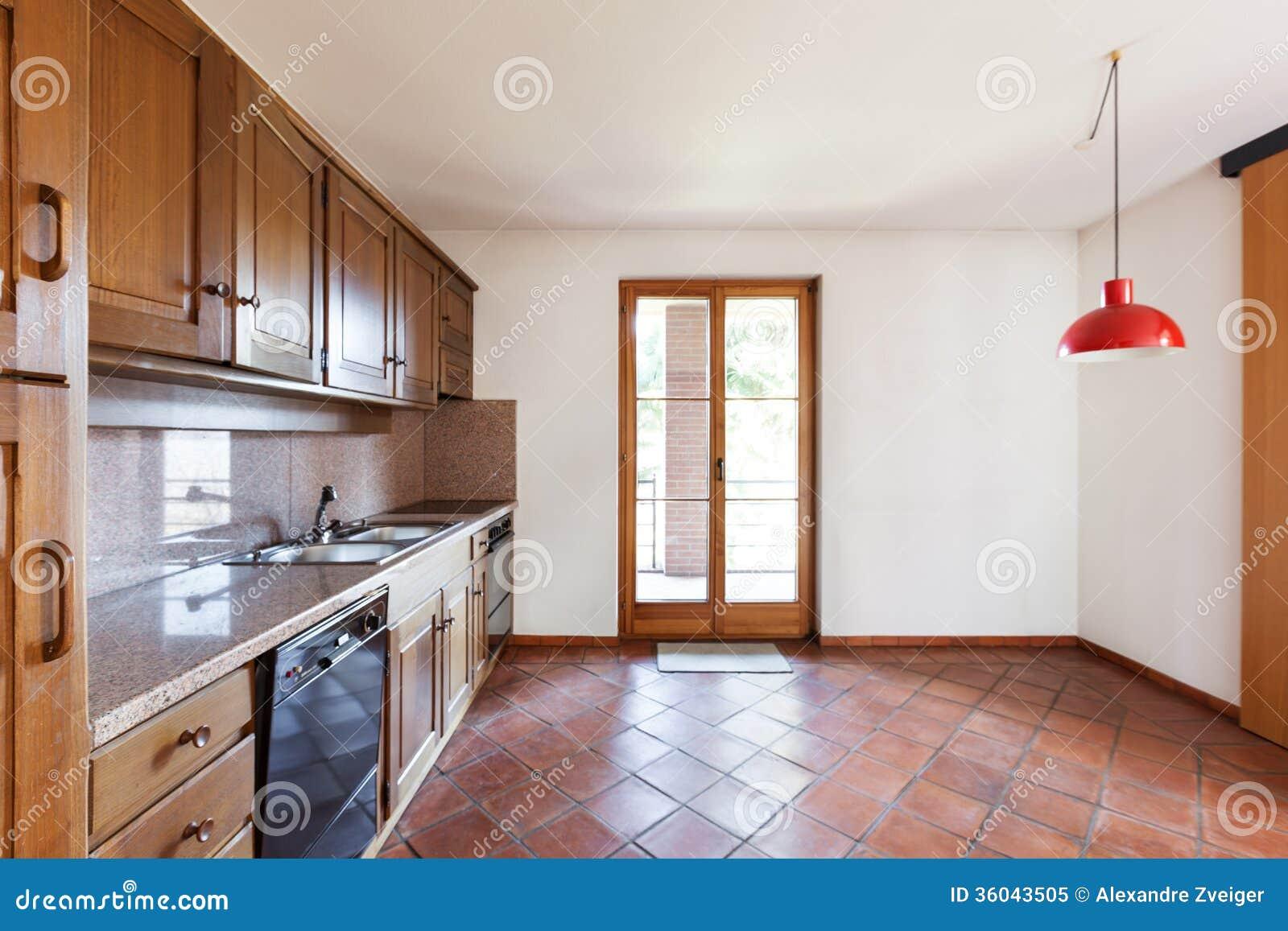 Interior House Kitchen Royalty Free Stock Photo Image