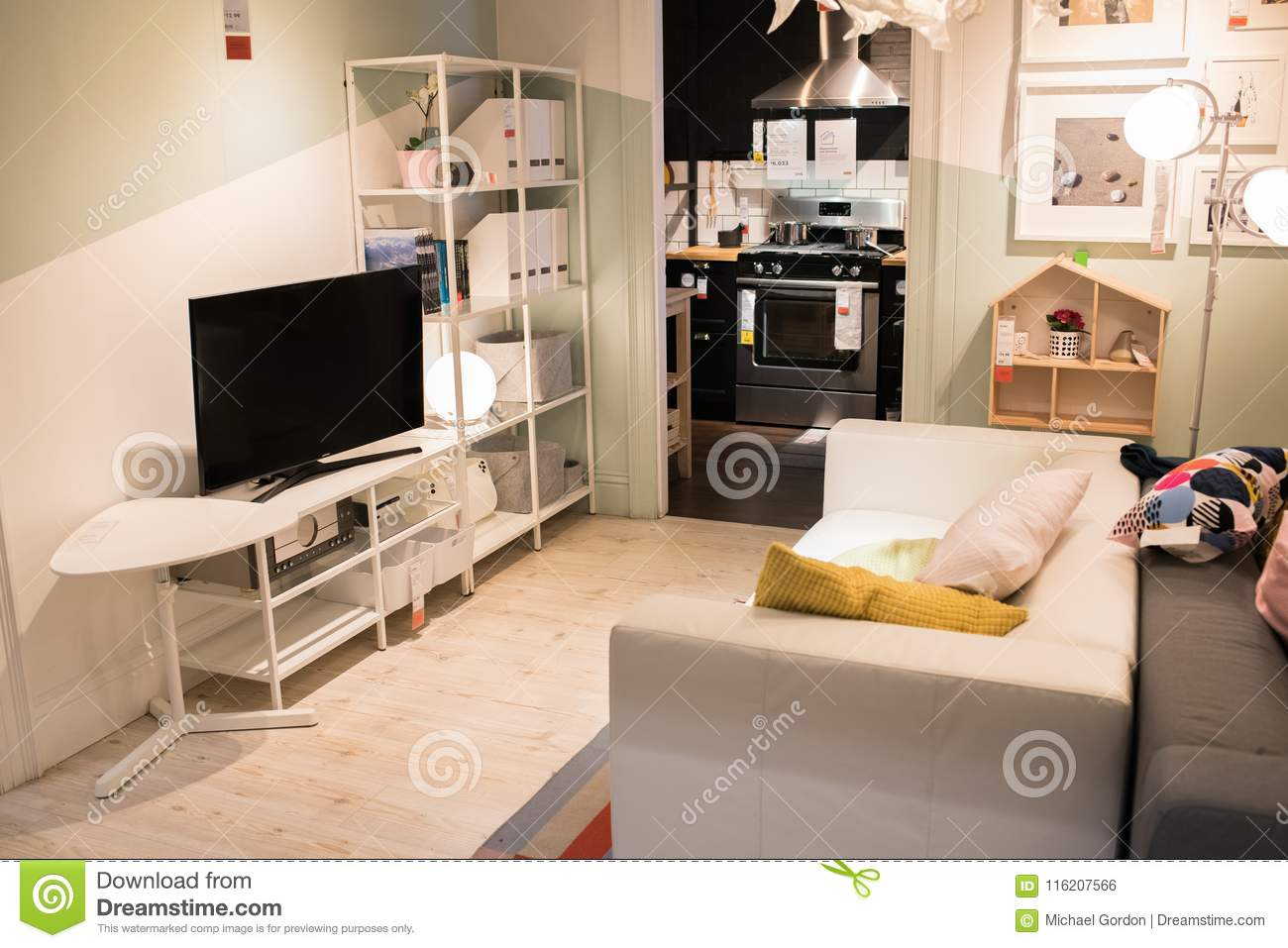 Interior Of An Ikea Store Editorial Photo Image Of Capitalism
