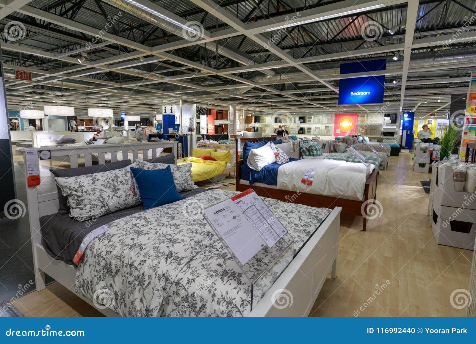 Interior Of The Ikea Store In Portland, Oregon. IKEA Is The ...