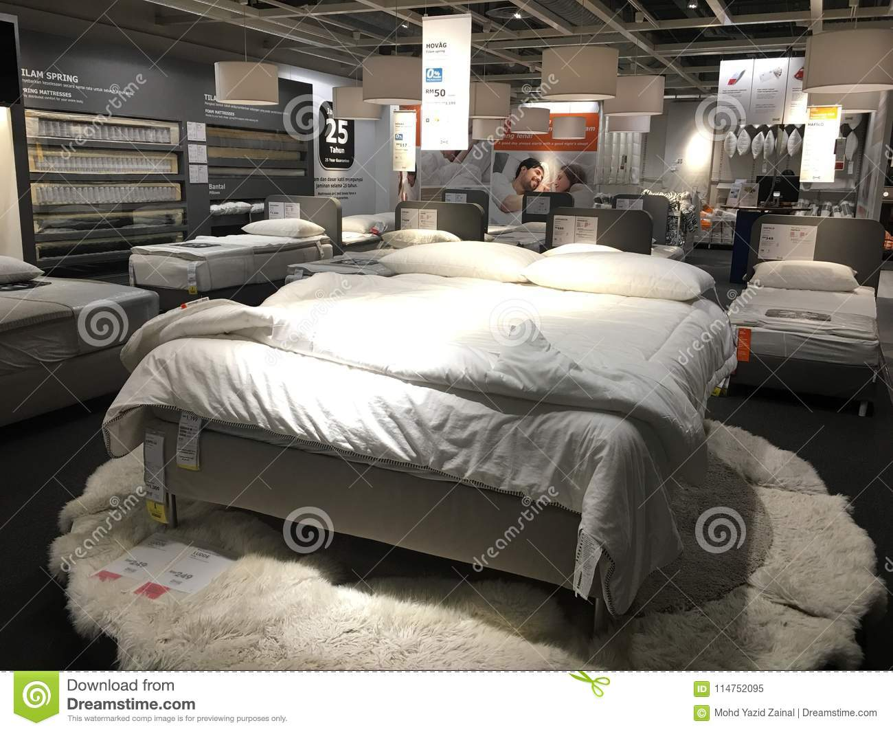 Interior Of The Ikea Store With Unidentified People And Brand Or Logo Editorial Image Image Of Retail Large 114752095