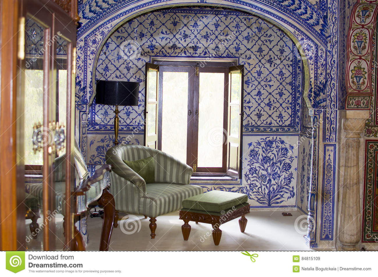 Genial Interior In The Indian Style With Furniture