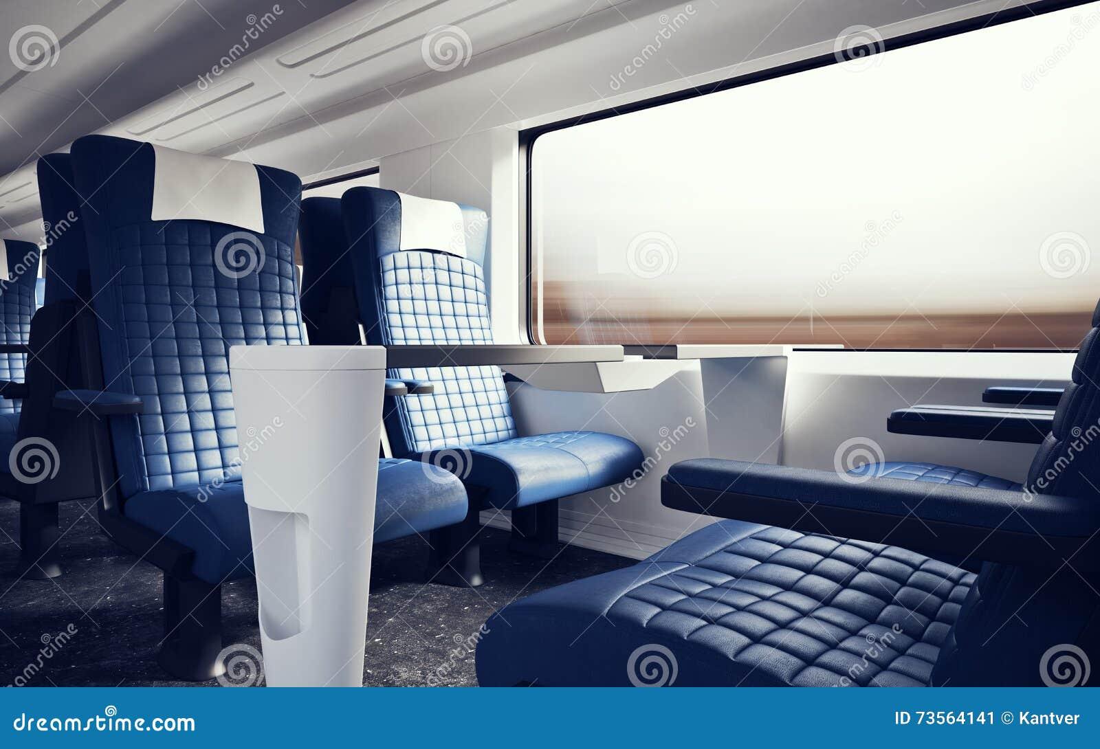 Superb Interior Inside First Class Cabin Modern Speed Express Train Frankydiablos Diy Chair Ideas Frankydiabloscom