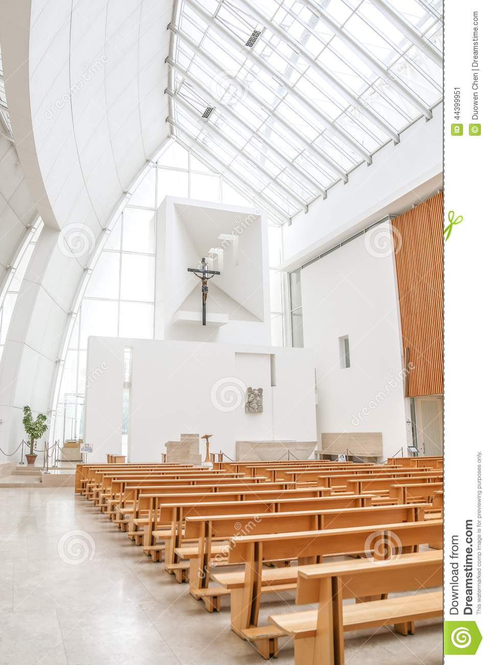 Interior Of Jubilee Church Stock Image Image Of Simple