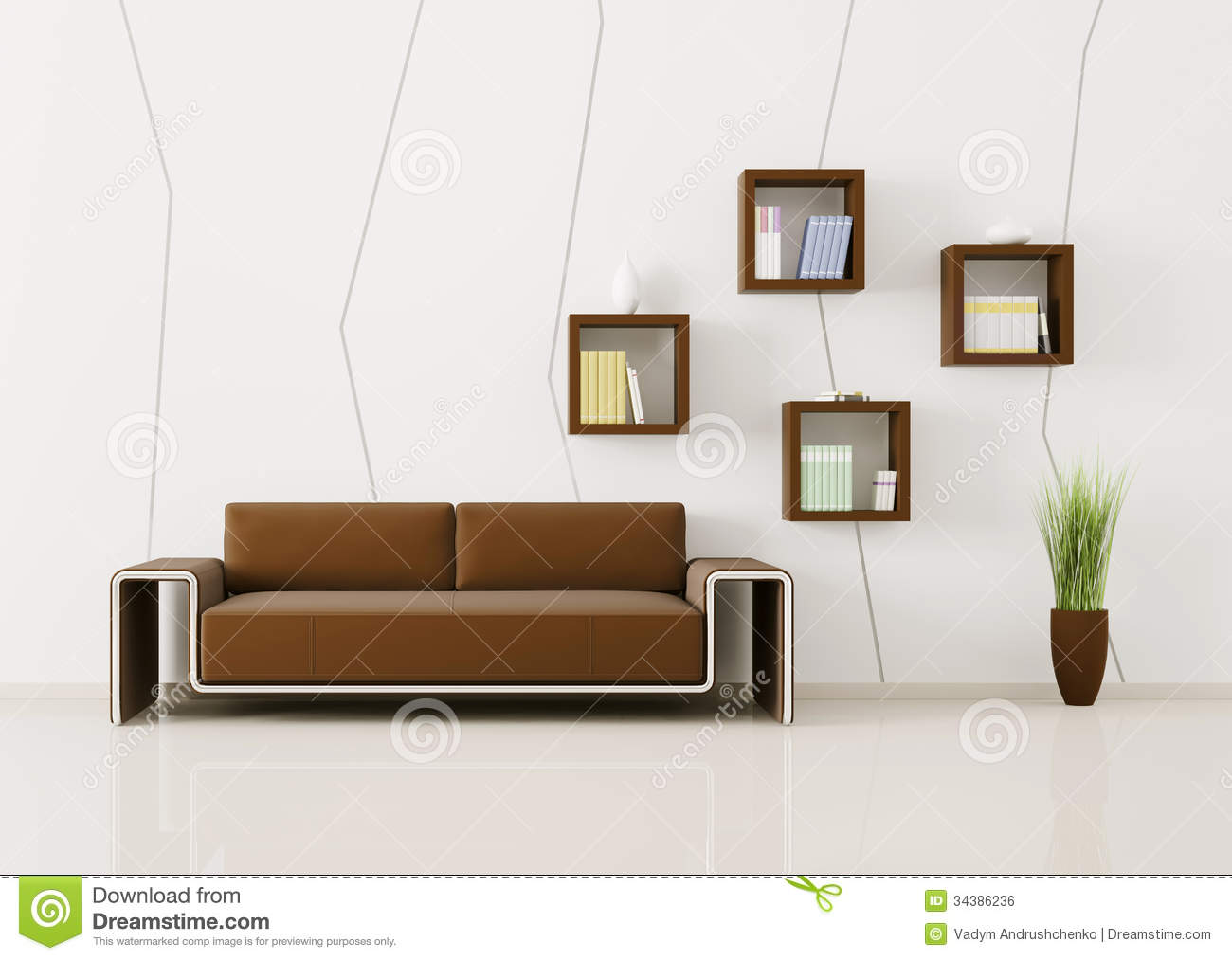 Interior of living room 3d render royalty free stock image image 34386236 - Living room photos ...
