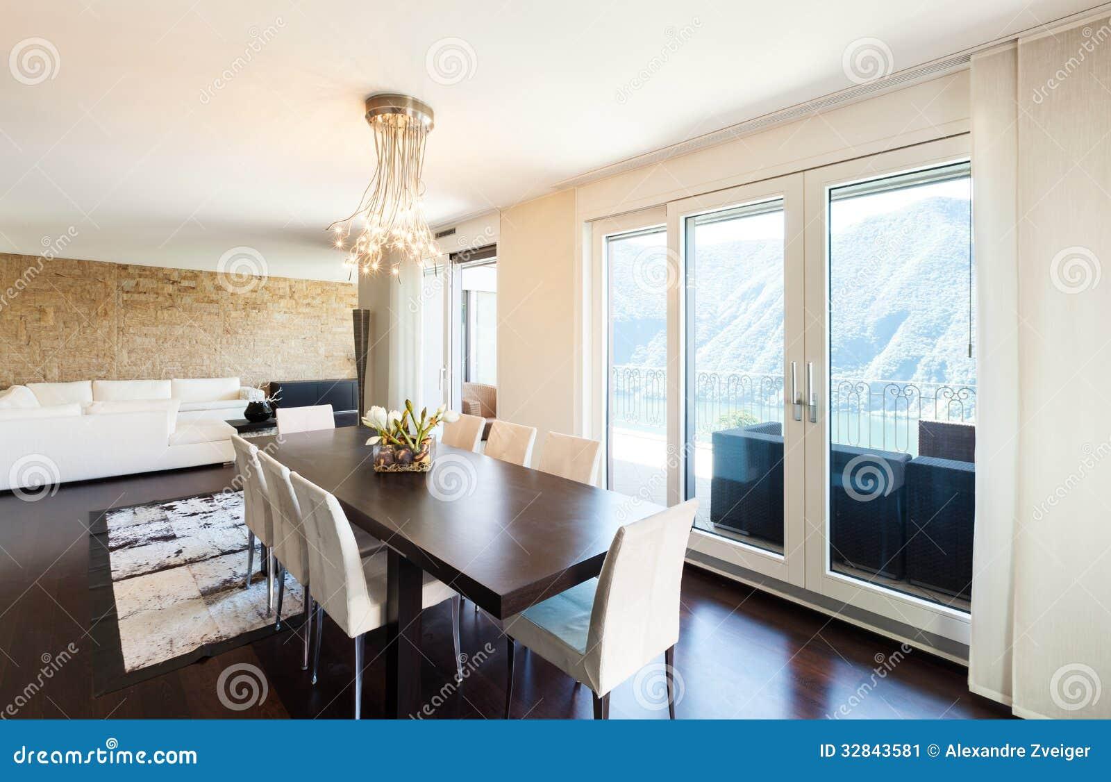 Interior Luxury Apartment Stock Image Image 32843581