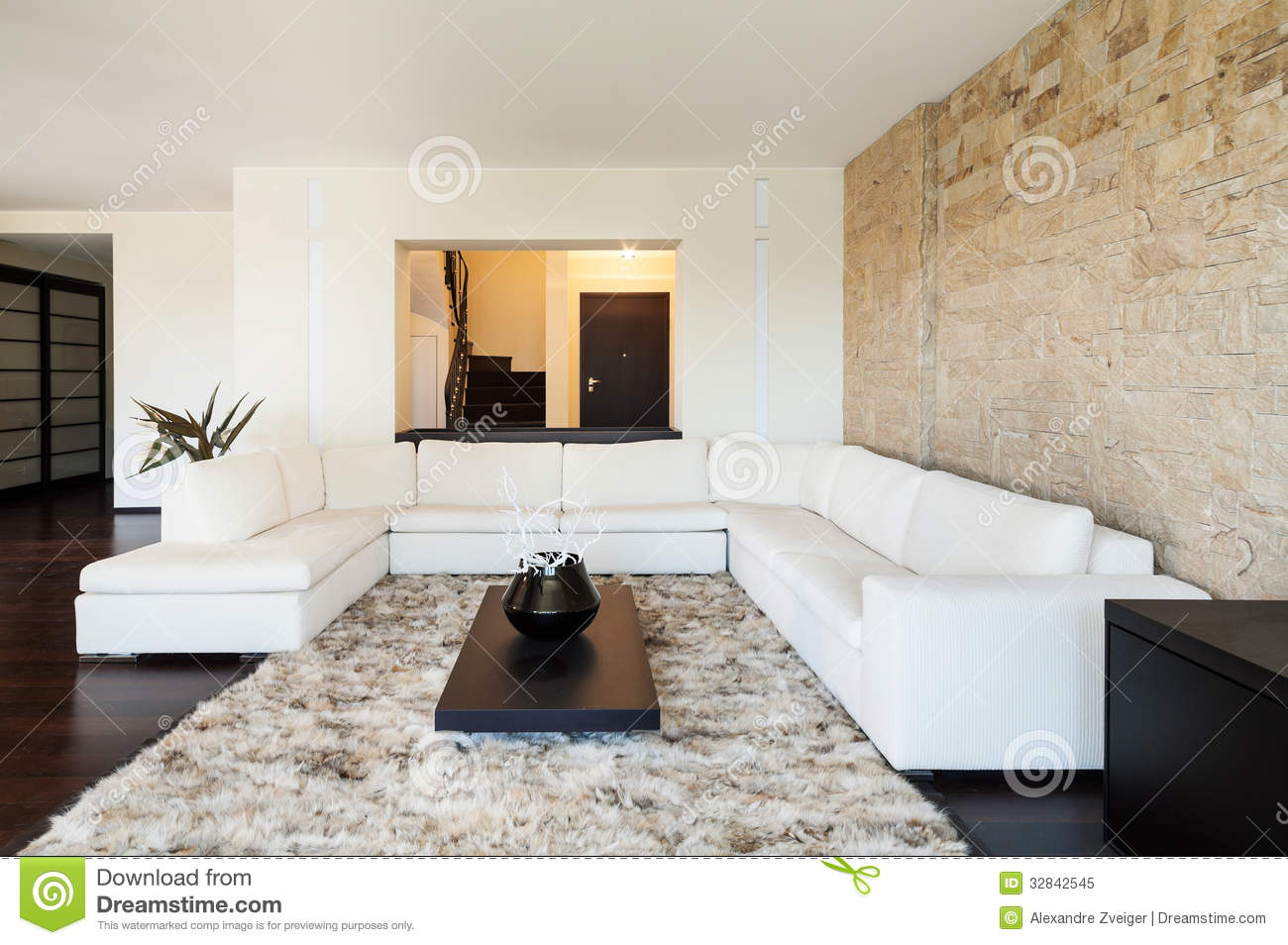 Interior luxury apartment stock image image of room Beautiful apartment interiors