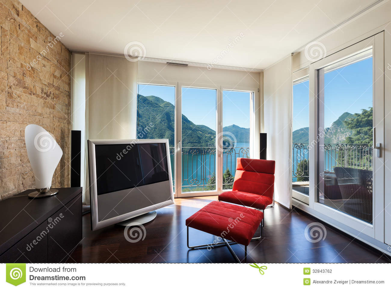 Interior luxury apartment stock photography image 32843762