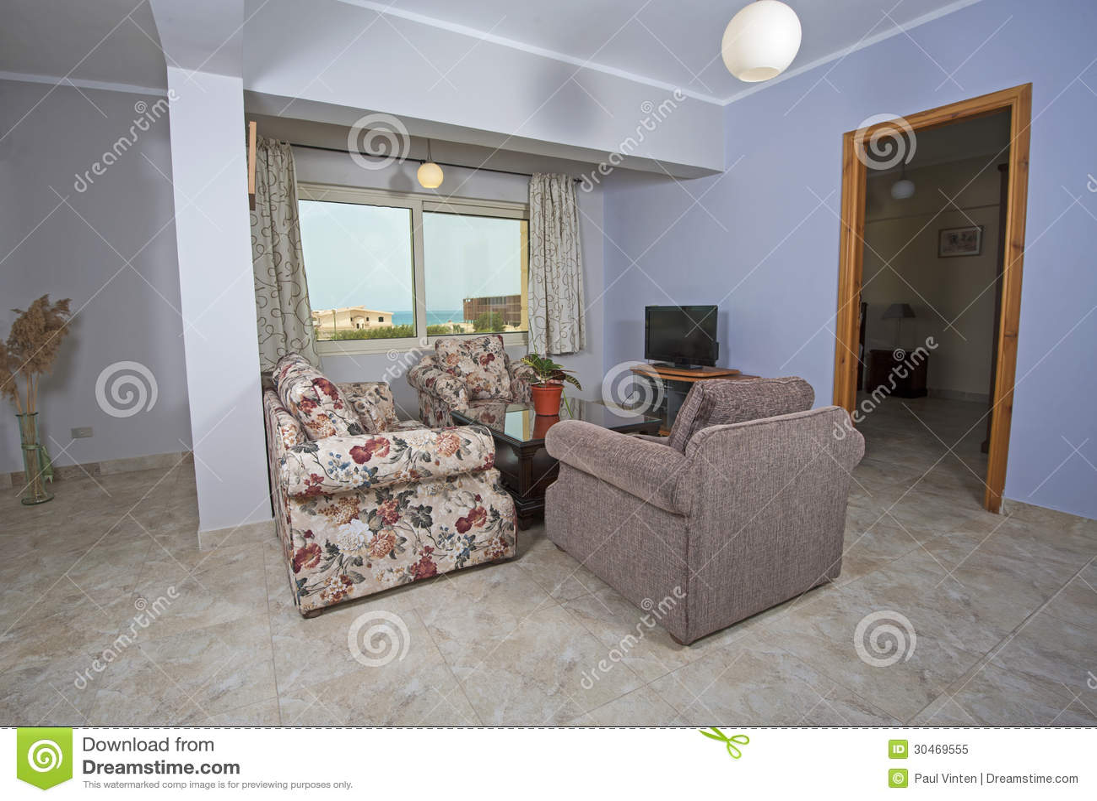 interior of luxury apartment royalty free stock photo