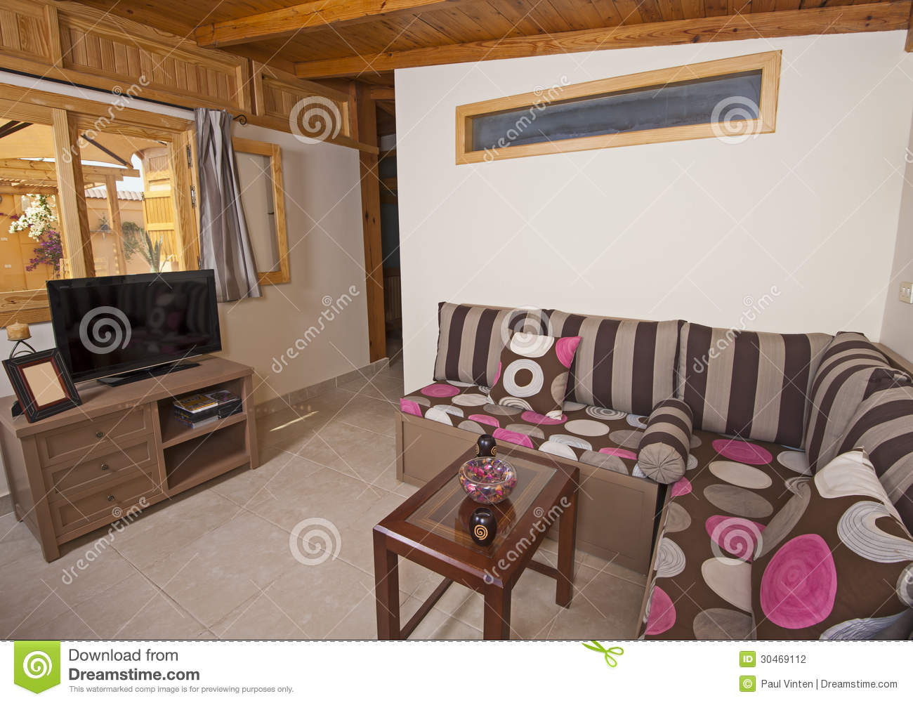 Interior Of Luxury Apartment Stock Photography Image