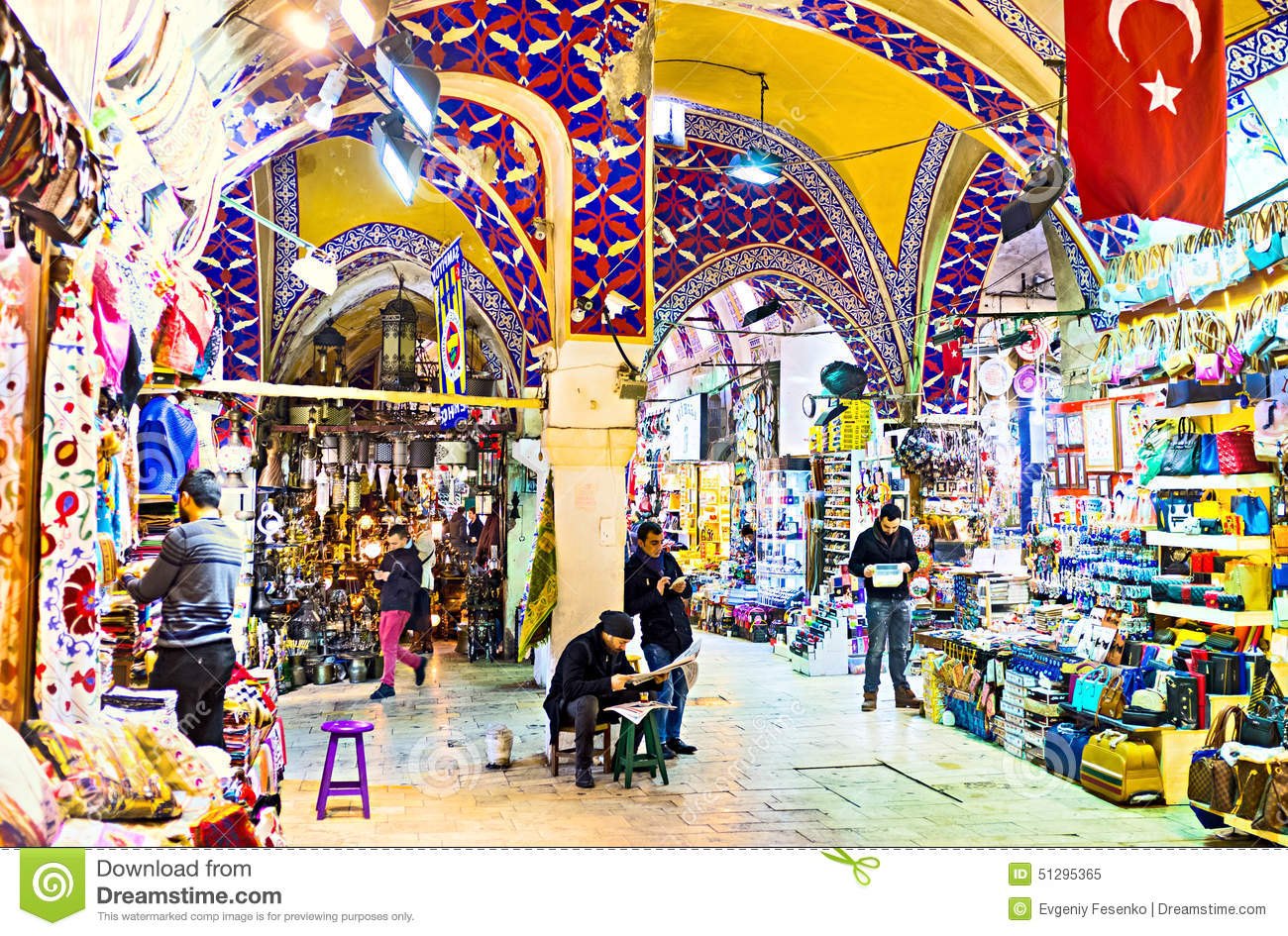 The interior of the market editorial image. Image of ceiling - 51295365