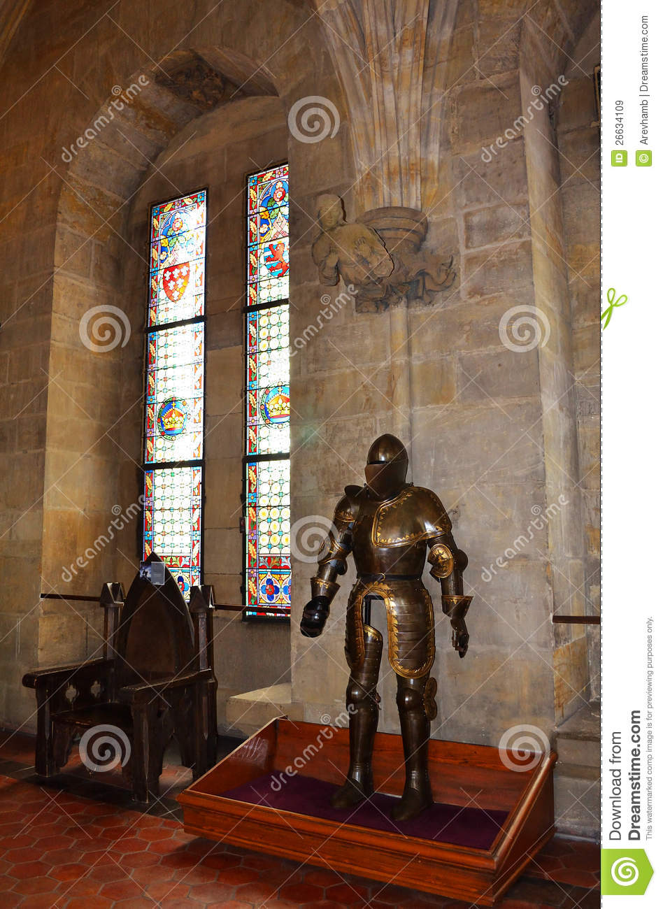 Interior Of Medieval Castle Royalty Free Stock Images