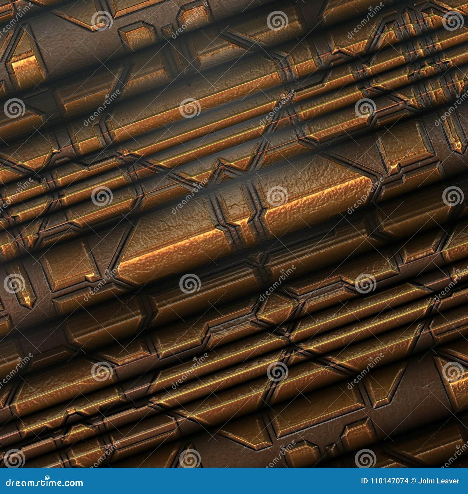 Interior metálico da textura/fundo