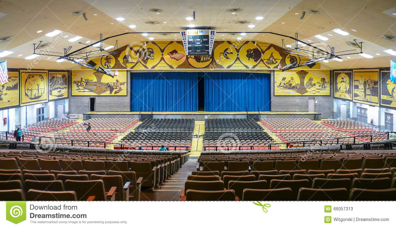 Interior Of Mitchell Corn Palace Editorial Stock Photo Image Of