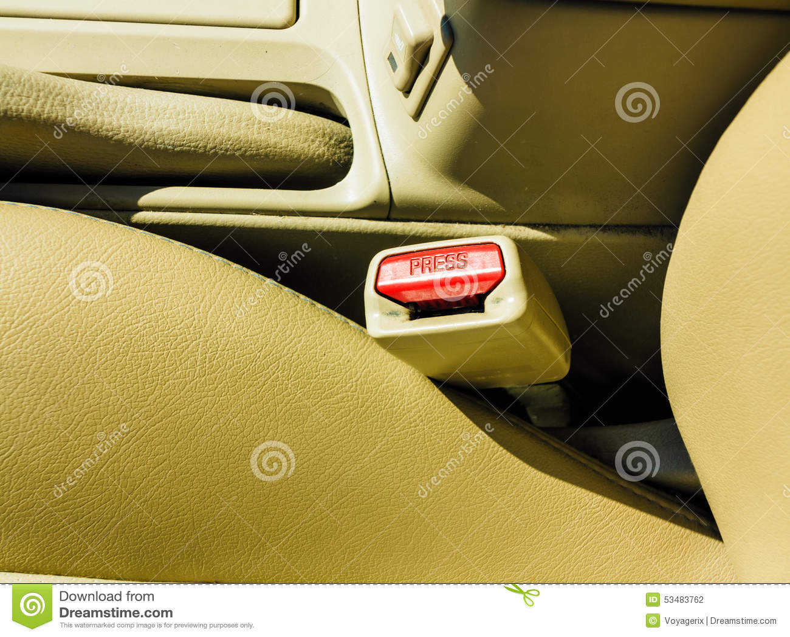 close up fasten the car seat belt stock photography 78715076. Black Bedroom Furniture Sets. Home Design Ideas