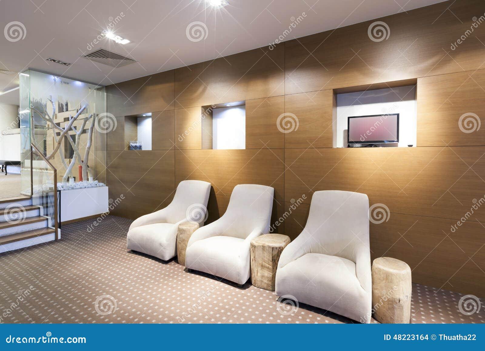 Interior Of A Modern Hotel Lobby Stock Photo - Image of decor, lobby: 48223164