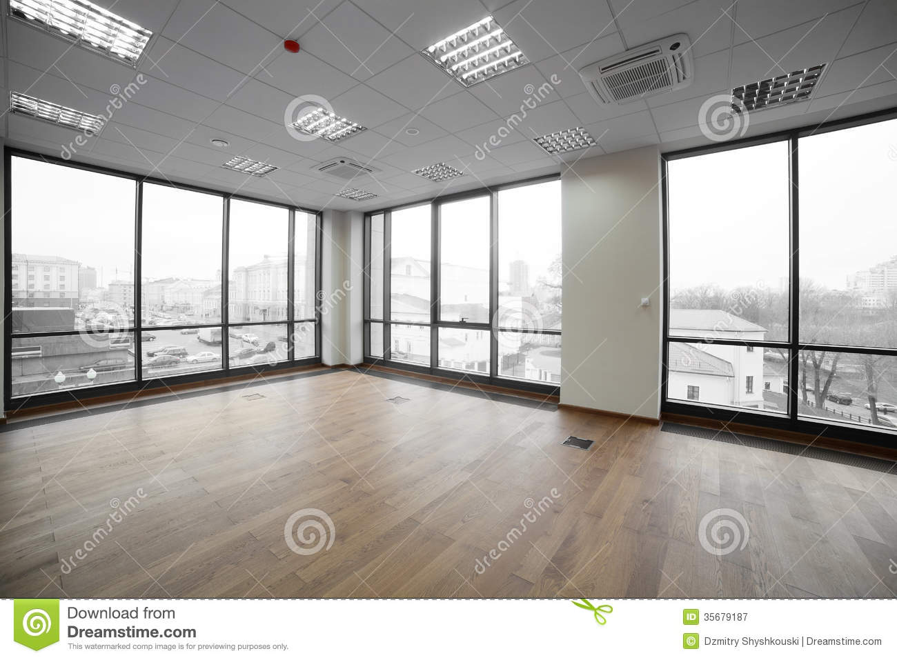 Interior Of Modern Office Building Stock Image Image