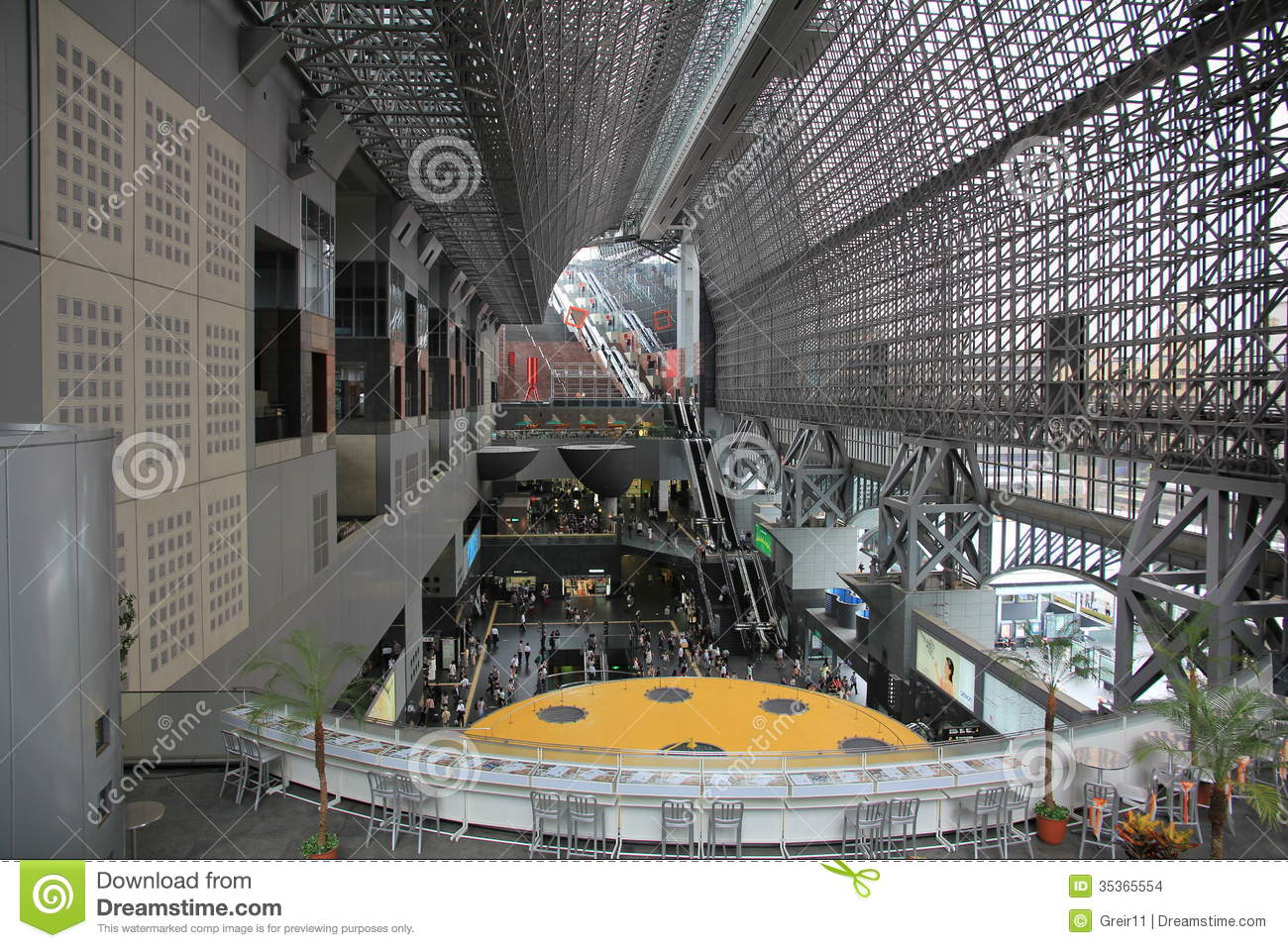 Kyoto Station Modern Architecture Editorial Stock Photo Image