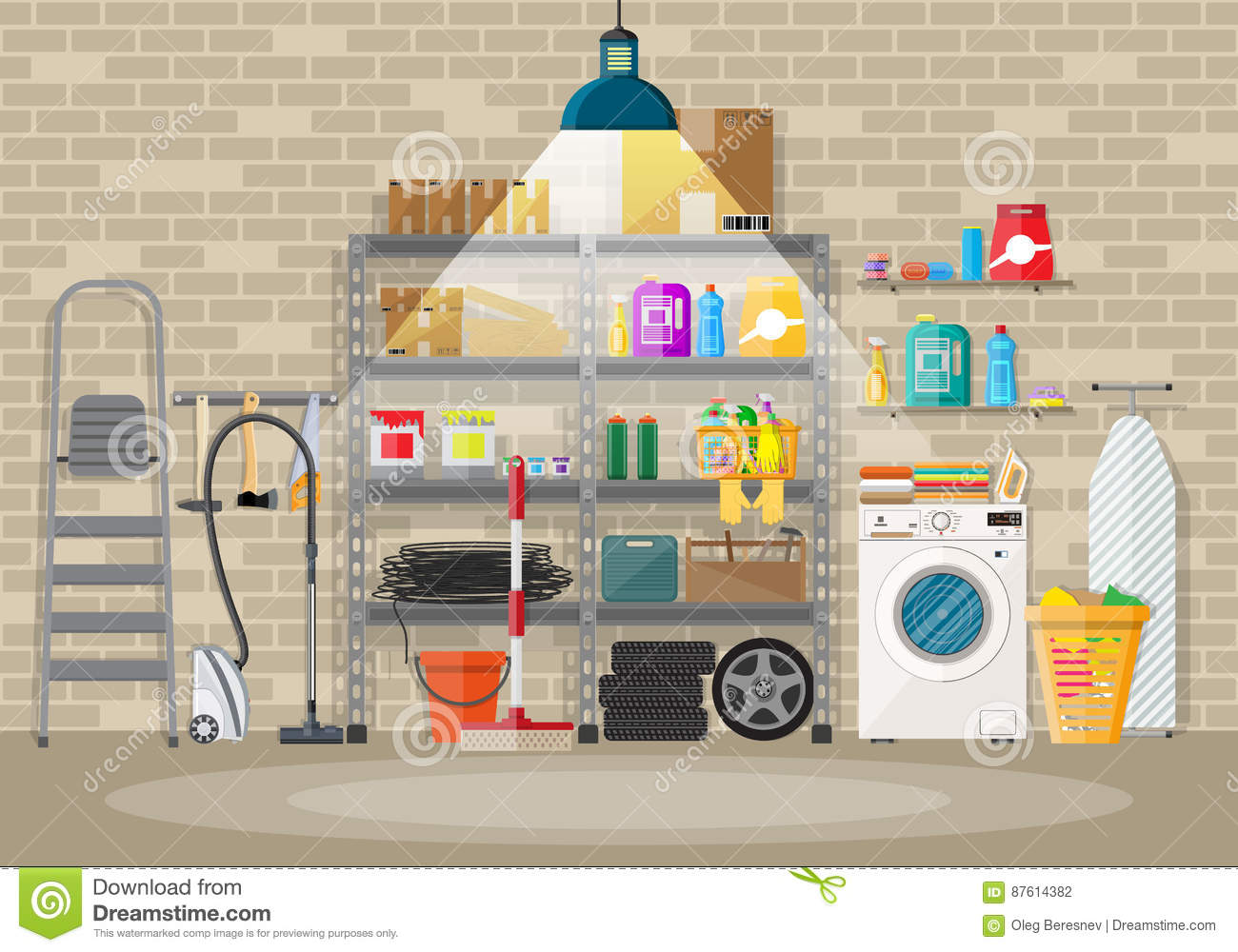 Storeroom Cartoons Illustrations Amp Vector Stock Images
